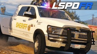 LSPDFR E136 - Bad Sheriff in the Ram 3500 | Bad Cop