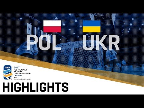 Poland - Ukraine | Highlights | 2017 IIHF Ice Hockey World Championship Division I Group A
