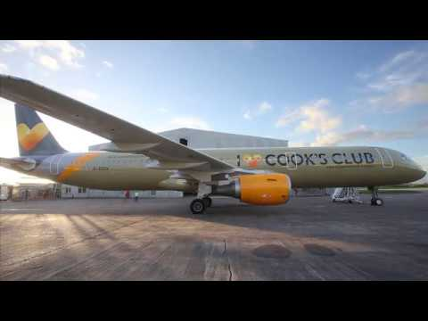 New livery for Thomas Cook planes this summer