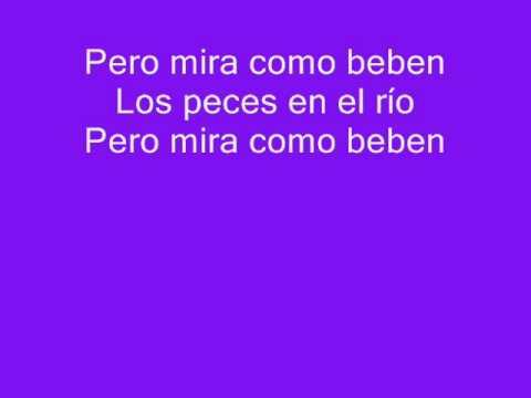 Los Peces En El Rio de RBD (lyrics)