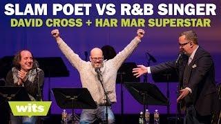 "David Cross and Har Mar Superstar - ""Slam Poet vs. R&B Singer"" - Wits Game Show"