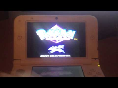 Running Pokémon Crystal on a Nintendo 3DS (Firmware 7.1.0-16E)