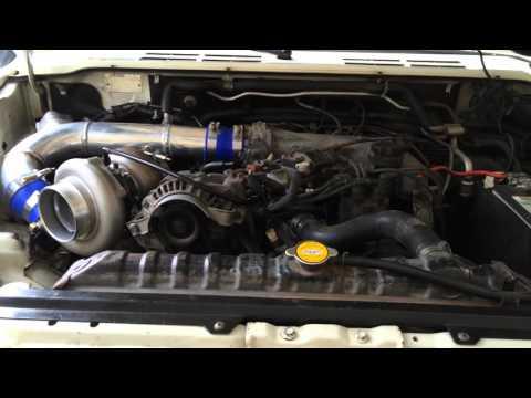 Mitsubishi Montero turbo La viuda blanca