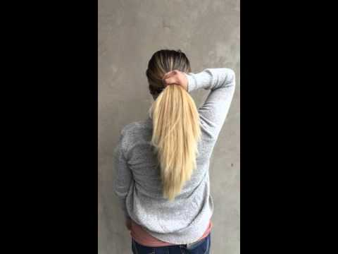 Super thick blonde hair in slo-mo streaming vf