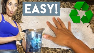 How to Recycle Your Own Paper! - The Easy Way