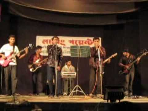 Lal shari poriya konna (Sohag) live covered by bangla band Reserpin...