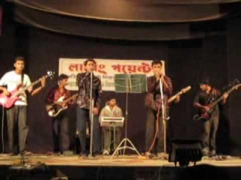 Lal shari poriya konna (Sohag) live covered by bangla band Reserpin
