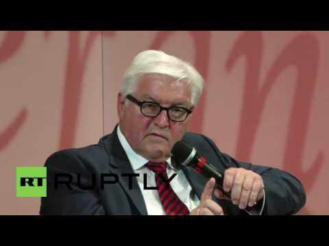 Germany: Steinmeier talks European and Russian security in Osnabruck