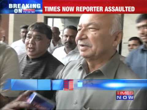 Sushilkumar Shinde threatens while Mohan Babu assaults TIMES NOW reporter