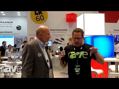 InfoComm 2016: Gary Kayye Interviews Clint Hoffman, VP of Marketing For Kramer