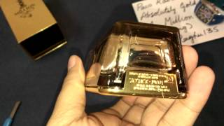 Paco Rabanne 1 / one Million Absolutely GOLD EDP , Fragrance / Perfume [Unboxing]