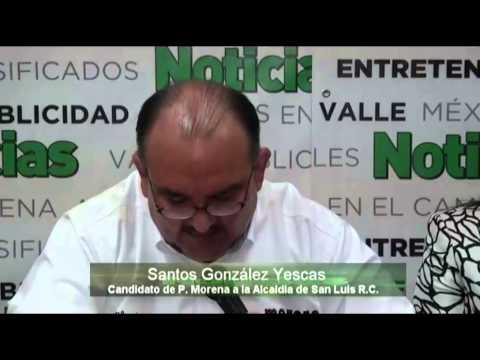DEBATE CANDIDATOS A ALCALDE DE SLRC