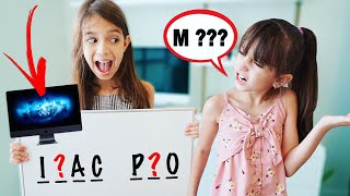 I'll Buy It If You Guess the Word Challenge! | TwoSistersToyStyle