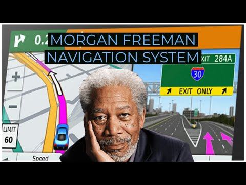 Morgan Freeman GPS commercial