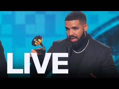 Drake Reacts To Being Cut Off At Grammys  ET Canada