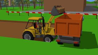 #Excavator and Mini Excavator, Dump Truck - Pipe Repair | Street Vehicles | Maszyny Budowlane