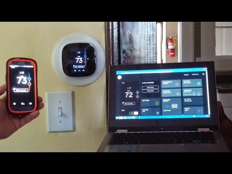 Ecobee3 Thermostat Review & Install