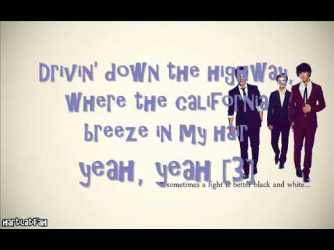 JONAS - L.A. BABY [LYRICS ON SCREEN] FULL SONG