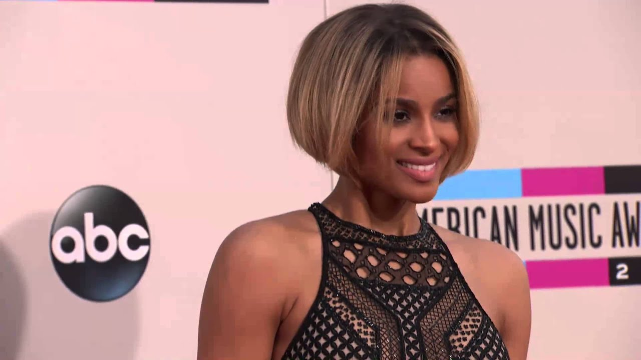 Ciara Red Carpet Fashion Amas 2013 Youtube