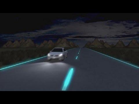 Implementan Autopistas Luminosas En Holanda