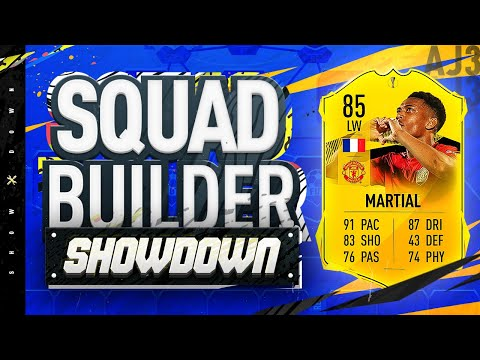 Fifa 20 Squad Builder Showdown!!! ROAD TO THE FINAL MARTIAL!!! The Most Crazy Priced Card Ever!?!