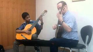 Denis Azabagic teaches Capricho Arabe by F.  Tarrega