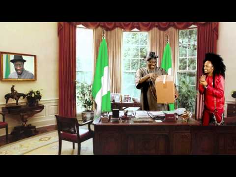 Denrele Delivers A Special Package to President Goodluck Jonathan