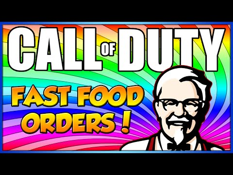 Taking Fast Food Orders on Call of Duty! #6