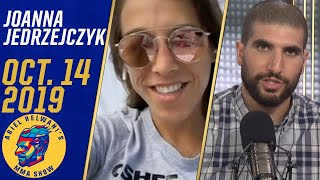 Joanna Jedrzejczyk hopes Covington loses to Usman, recaps Waterson fight | Ariel Helwani's MMA Show