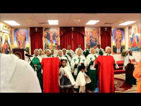LAS VEGAS  St Michael Ethiopian  Orthodox church   mezmur