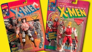 Marvel X-Men Cartoon Toys | Robot Wolverine (Albert) 6th Edition | Omega Red | Toy Biz HD 2017
