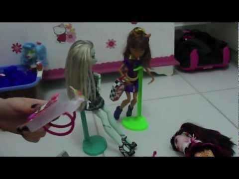 Tutorial Mochila para as Monster High by Julia