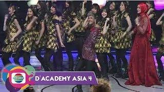 SERU!! JKT 48 Adu Goyang Chaketo (Abc Dance)  Bersama Jirayut! - Da Asia 4