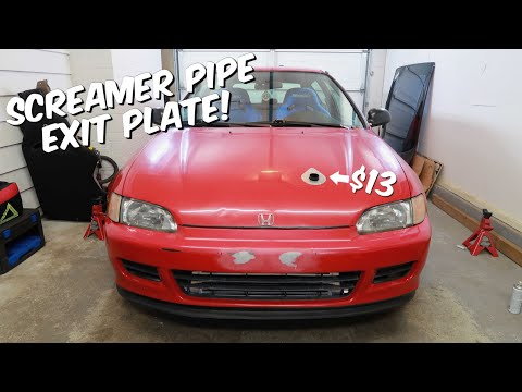 Hood Exit Plate for the EG Hatch!