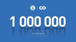 1 million on Coursera