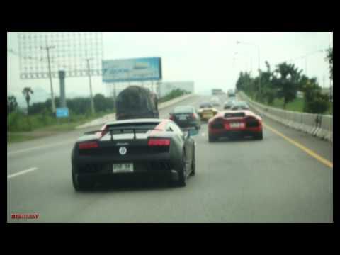 Lamborghini in Thailand