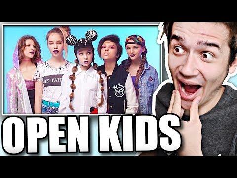 Реакция на Open Kids - На Десерт