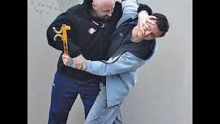 two men fight in london