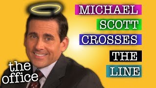 Michael Scott CROSSES THE LINE  - The Office US