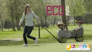 Eco Mobil – A versatile pull-along wagon from Hauck TOYS FOR KIDS
