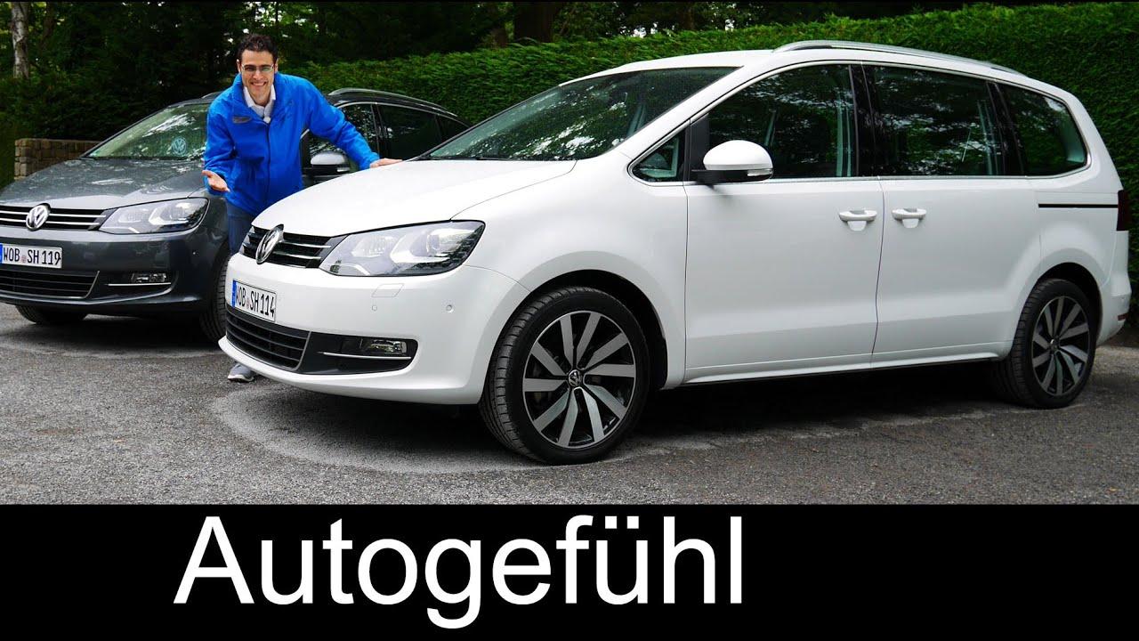 New Volkswagen VW Sharan Facelift FULL REVIEW test driven ...