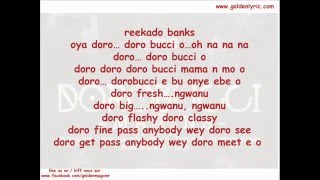 Dorobucci  Lyrics Mavins ft Don Jazzy, Tiwa Savage, D'prince