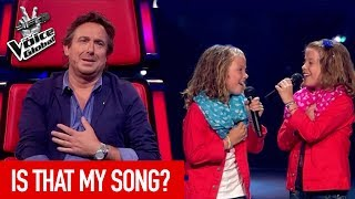 The Voice Kids | Talents who auditioned with a COACH SONG
