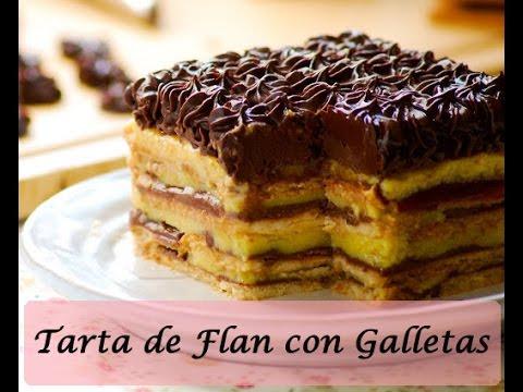 Image Result For Receta Flan De Galletas