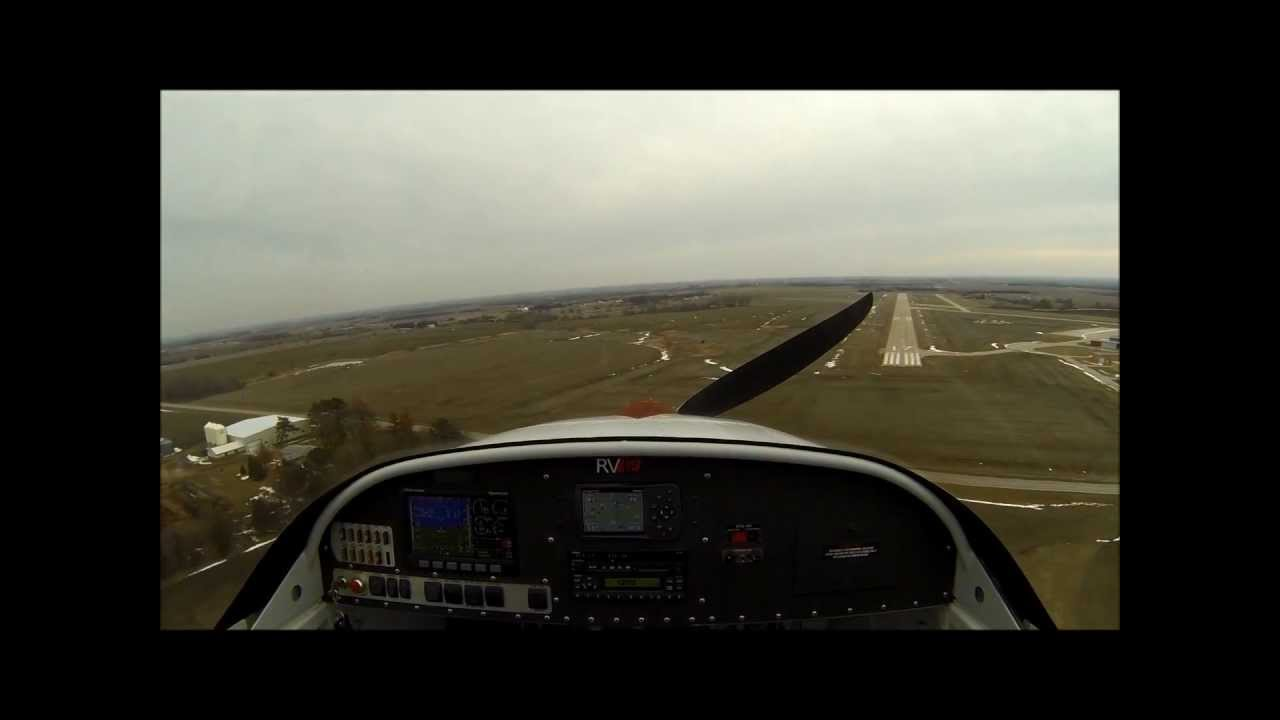 Land Dead Rv-12 Dead Stick Landing