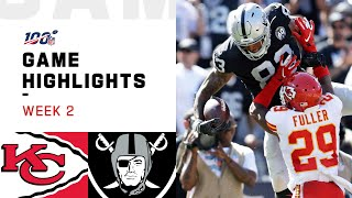 Chiefs vs Raiders Week 2 Highlights | NFL 2019