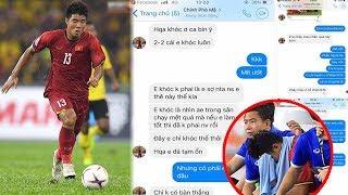 Đức Chinh bật khóc nói về 3 cú sút hỏng trong trận gặp Malaysia lượt đi,ai nghe cũng xót xa..!