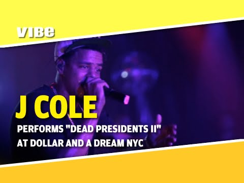 J Cole Performs Just To Get By and Dead Presidents II In NYC