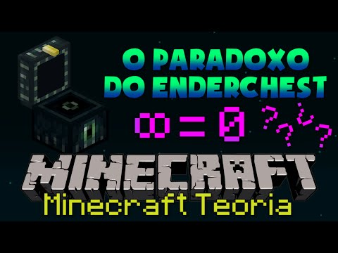 A TEORIA DO PARADOXO do ENDERCHEST no MINECRAFT!