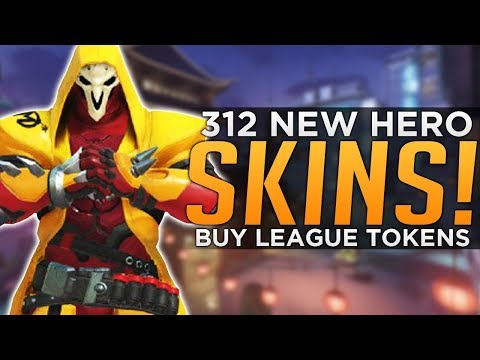 Overwatch: 312+ NEW Skins Coming! - BUY New League Tokens!